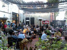 Gordon Biersch San Jose beer garden