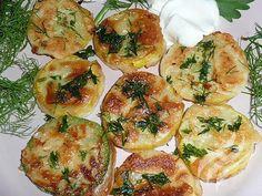 Zucchini in garlic batter / Culinary Universe New Recipes, Vegetarian Recipes, Cooking Recipes, Favorite Recipes, Hungarian Recipes, Russian Recipes, Vegetable Casserole, Vegetable Dishes, Zucchini