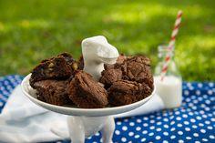 Receita de brownie de Twix    por Lu Ferreira | Chata de Galocha       - http://modatrade.com.br/receita-de-brownie-de-twix