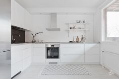 french country kitchens in france Ikea Kitchen, Kitchen Cabinets, Kitchen Ideas, Voxtorp Ikea, River Cottage, French Country Kitchens, Kitchen Design, House, Home Decor