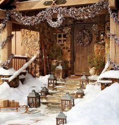 Decoración de navidad en fachadas de casas | Construye Hogar