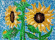 Pointillism Georges Seurat Art Lesson: I had a great time with a lesson on Georges Seurat. After all, who wouldn't have fun with Pointillism.