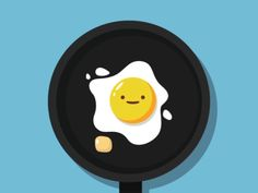 animation GIF -Happy Smiling Egg - For more beautiful images and interesting posts, checkout DesignStack. Anim Gif, Gif Animé, Animated Gif, Egg Gif, Illustration Art, Illustrations, Egg Designs, Animation, American Dad