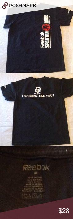 1555562b4 Reebok Spartan Race Finisher Graphic Tee Official Spartan Race Finisher  Prize T-shirt