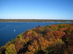 Fall colors in Door County WI- dont miss it!