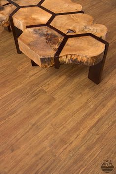 Honeycomb inspired coffee table