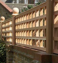 Fencing - Bespoke Garden Products - Norton Garden Structures