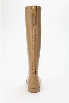 love these zipper rainboots