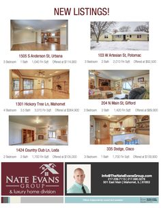 39 Best New Listings images | Real estate, Central illinois ... Ranch House Floor Plans Dion S on