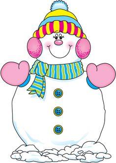 Clip Art Snowgirl ... de carson on Pinte...