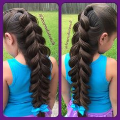 Impressive braids by Kerry Lane, Texas, USA! Photo gallery and Video tutorials!