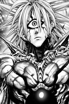 Boros One punch man One Punch Man Manga, Anime Boys, Manga Anime, Anime Art, Saitama, Dark Matter One, Lord Boros, What Is A Hero, Caped Baldy