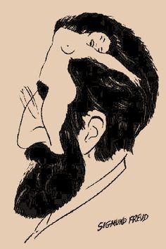 Sigmund Freud oder eine nackte Frau