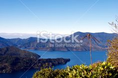 Kenepuru Sound, Marlborough Sounds, New Zealand Royalty Free Stock Photo
