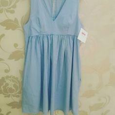 #abitino #cotone #celeste #tasconi #valeria #abbigliamento