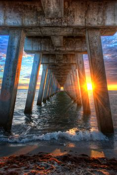 This is Venice Pier on Florida's west coast. A couple of weeks ago I found myself here with camera in hand. This is a really cool pier and at the foot of it is Sharky's restaurant which is a must see if you're visiting the area.