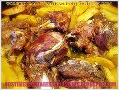 ΑΡΝΑΚΙ ΜΕ ΠΑΤΑΤΕΣ ΣΤΗ ΓΑΣΤΡΑ!!! - Νόστιμες συνταγές της Γωγώς! Pork, Cooking Recipes, Beef, Chicken, Kale Stir Fry, Meat, Chef Recipes, Pork Chops