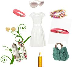 Sweet Summer, created by rchmsj6 on Polyvore