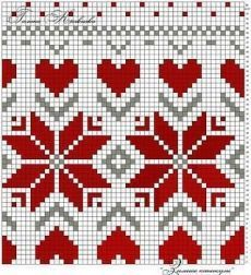 It is a website for handmade creations,with free patterns for croshet and knitting , in many techniques & designs. Cross Stitch Borders, Cross Stitch Designs, Cross Stitch Patterns, Knitting Charts, Knitting Stitches, Knitting Patterns, Beading Patterns, Embroidery Patterns, Tapestry Crochet Patterns