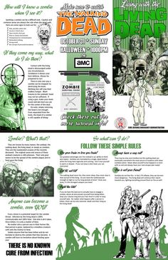 Ideas for a zombie party