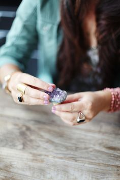 DIY Gem Bottle Stoppers with Firefly Events / Photography by Jessie Webster