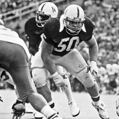 Dave Rimington--Listed as one of - Most Intimidating Player in College Football History