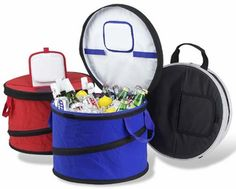 Large Collapsible Round Style Cooler