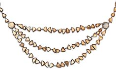 LINE VAUTRIN A Three-Strand Necklace