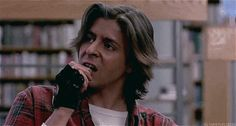 John Bender was a total badass who could light a match with his fucking teeth. | 18 Reasons You Had A Crush On John Bender From The Breakfast Club