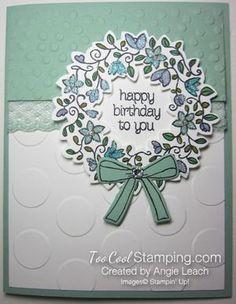 Last Thursdays: Circle of Spring Wreath Cards