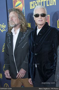 "Robert Plant, Jimmy Page - ""Led Zeppelin: Celebration Day"" New York City Premiere - Arrivals"