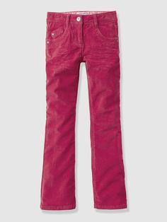 Collection hiver enfant vertbaudet - pantalon fille bootcut