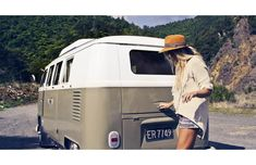 my dream… to travel around in a van… better so a camper :)