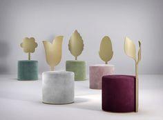 giardino botanico: secolo XXI's first collection of velvet chairs