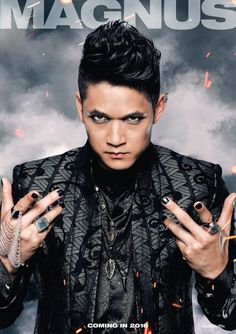 Magnus Bane #Shadowhunters coming in 2016