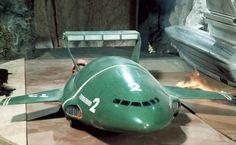 Thunderbirds are go … again! Thunderbirds Are Go, Classic Sci Fi, Retro Futuristic, Old Tv, Animation, Super Cars, Cool Stuff, Models, Rocket Cake