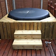 inflatable hot tub steps - Google Search…