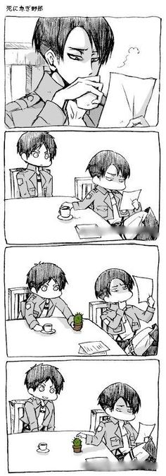Shingeki NO EREN - attack on levi<<<<< EREN YOU IDIOT YOUR GONNA GET KILLED