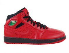NIKE AIR JORDAN 1 RETRO '97 TXT GYM RED/BLACK #sneaker