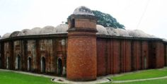Sixty Dome Mosque. Bagerhat,Bangladesh. 1442-1459
