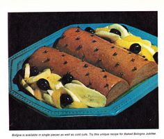 Bananas + Bologna = A Jubilee!    Family Circle Illustrated Library of Cooking Volume 7, 1972