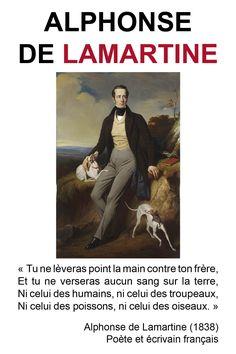 Citations des philosophes végétariens | Alphonse de Lamartine