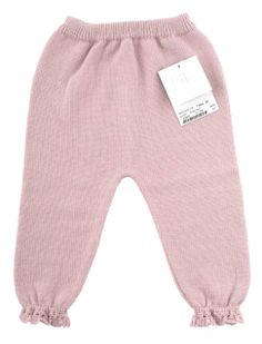 Baby girl knitted trousers from PAZ Rodríguez