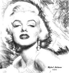 Marilyn Monroe - The One And Only  Digital Art by Rafael Salazar