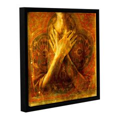 Honor Self by Elena Ray Floater-Framed Graphic Art on Gallery-Wrapped Canvas