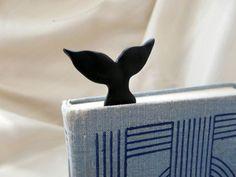 Marcador de livros de baleia inspirado em Moby Dick