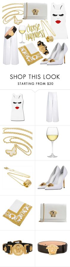"""""""Summer style"""" by ellenfischerbeauty ❤ liked on Polyvore featuring Joseph, Van Cleef & Arpels, Nordstrom, Gucci and Versace"""