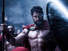 "King Leonidas Gerard Butler 300 Spartans Movie wall print poster 24""x32""wbp05724"