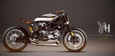 Project Design Custom Ducati 999S by Felmoto Customs, sketch by Holographic Hammer