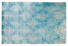 Beautiful: 511x811 Naomi Rug, Exotic Blue on OneKingsLane.com